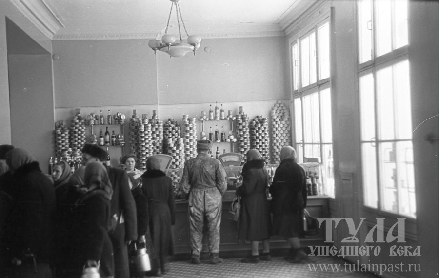 1960 год. Продуктовый магазин в районе автовокзала. Фото В. Полюбина