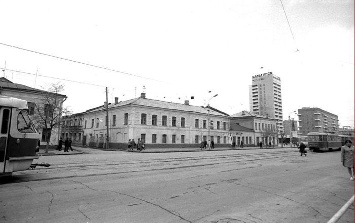 Промышленный кластер в центре города